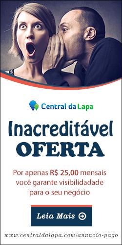 Oferta de anúncio pago no Central da Lapa