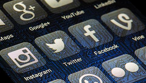Site com integração com redes sociais