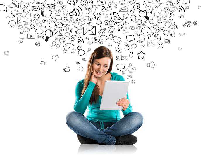 empresas que utilizam as redes sociais tem mais visibilidade