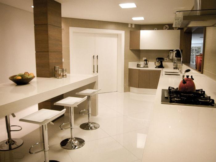 Iluminação de ambientes: A cozinha