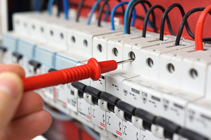 Parte elétrica de Imóveis usados