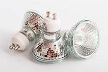 Tipos de lâmpadas halógenas e suas características