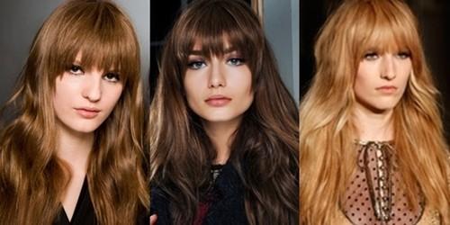 Corte de cabelo feminino franja