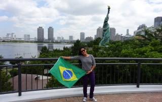 Flávia Souza fala sobre os Locais visitados no Japão