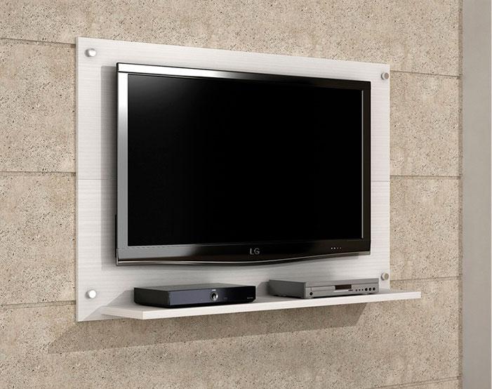 TV na parede Vantagens de colocar a TV na parede ~ Quarto Solteiro Com Tv Na Parede
