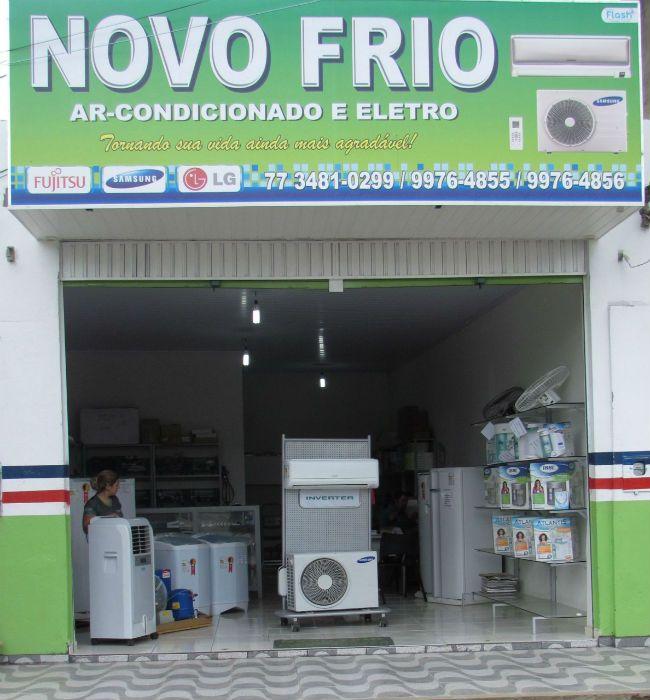 Novo Frio em Bom Jesus da Lapa | refrigeração, ar-condicionado