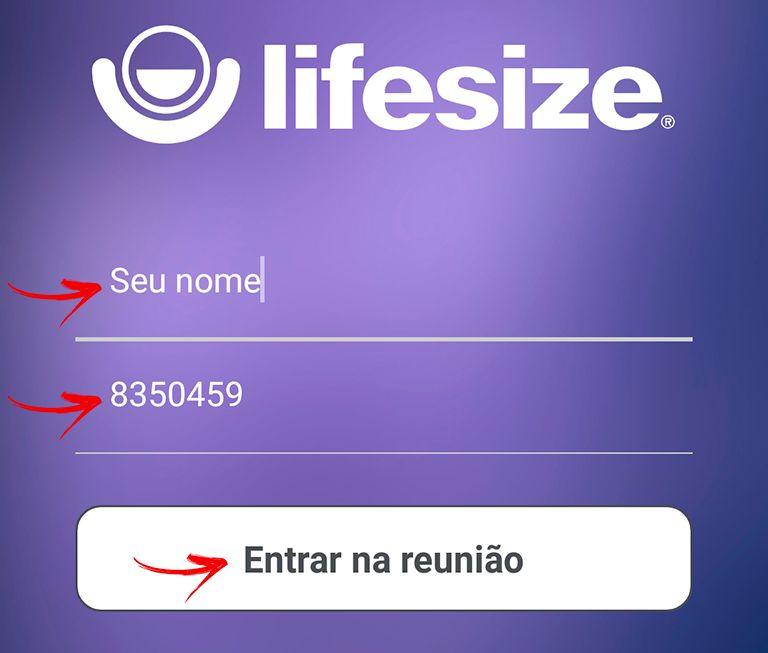 Acessar Lifesize pelo Celular