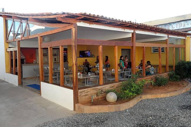 Café da manhã do Hotel Lagoa Azul em Bom Jesus da Lapa