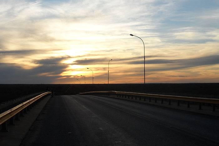 Pôr do Sol na Ponte do Rio São Francisco em Bom jesus da Lapa