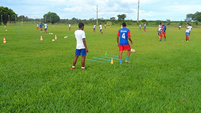 Atletas do CFA Braunão