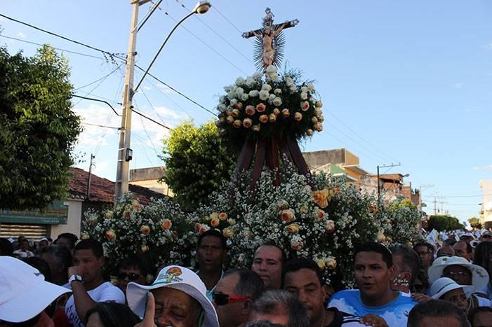 Imagem do Senhor Bom Jesus na Romaria do Bom Jesus da Lapa