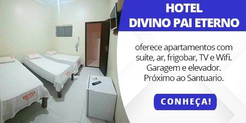 Hotel Divino Pai Eterno | Hotel com elevador