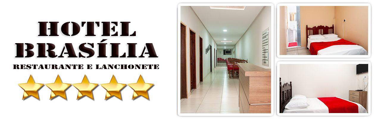 Hotel Brasília - Hospedagem em Bom Jesus da Lapa