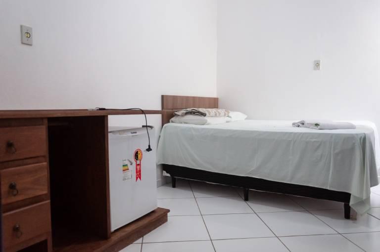 Acomodações do Hotel La-Paz - Camas Box