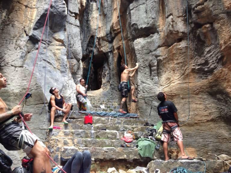 fotos da escalada do morro de bom jesus da lapa por murilo costa 1