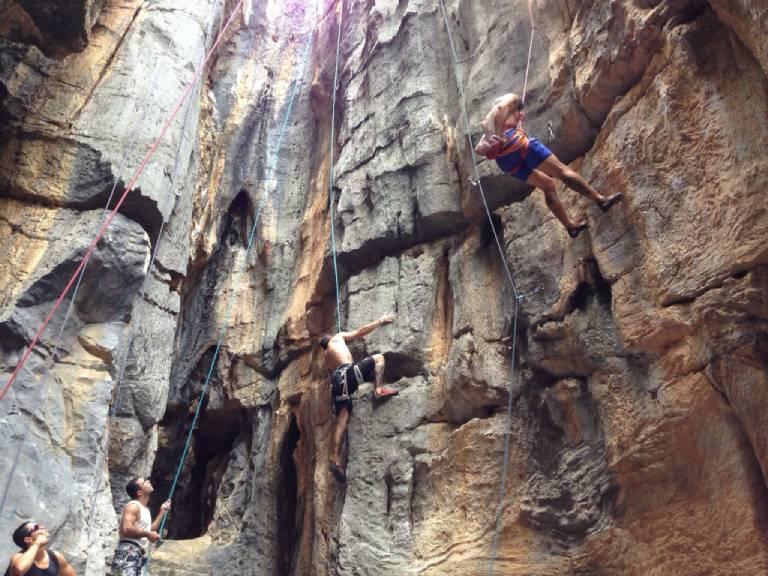 fotos da escalada do morro de bom jesus da lapa por murilo costa 2