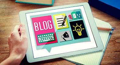 site com blog integrado