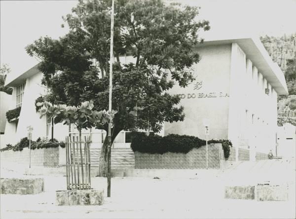 Banco do Brasil de Bom Jesus da Lapa - Foto Antiga
