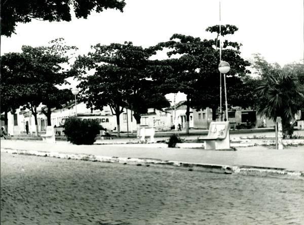 Praça antiga de Bom Jesus da Lapa