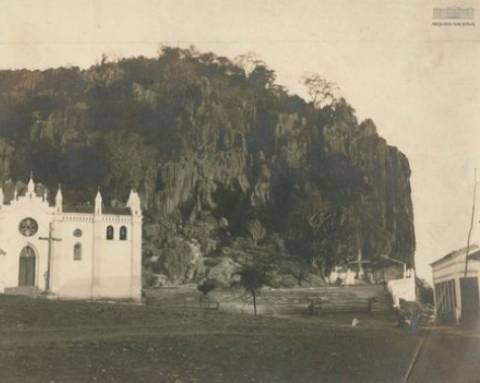 Morro da Lapa - Foto Antiga