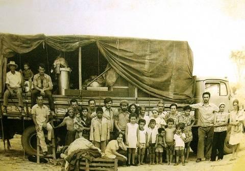 Romeiros chegavam de pau-de-arara em Bom Jesus da Lapa