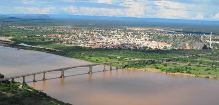 A ponte Gercino Coelho teve grande importância na história de Bom Jesus da Lapa