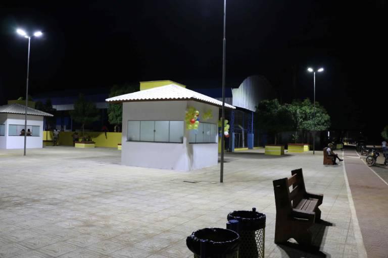 Praça do Setor 4 - Projeto Formoso