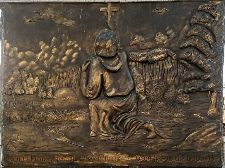 1691 - O Monge funda o Santuário do Bom Jesus da Lapa