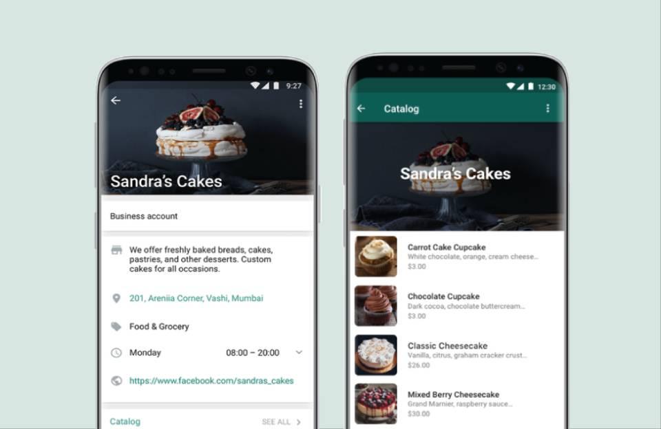Catálogo de Produtos WhatsApp Business
