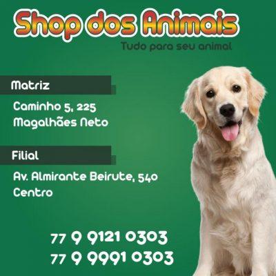 Shop dos Animais – Filial