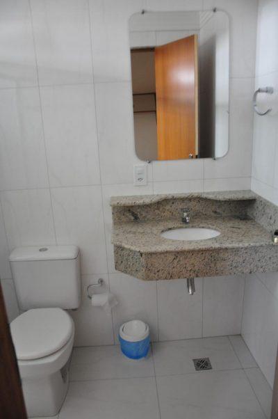 Padrão de Banheiro dos apartamentos térreo e primeiro andar